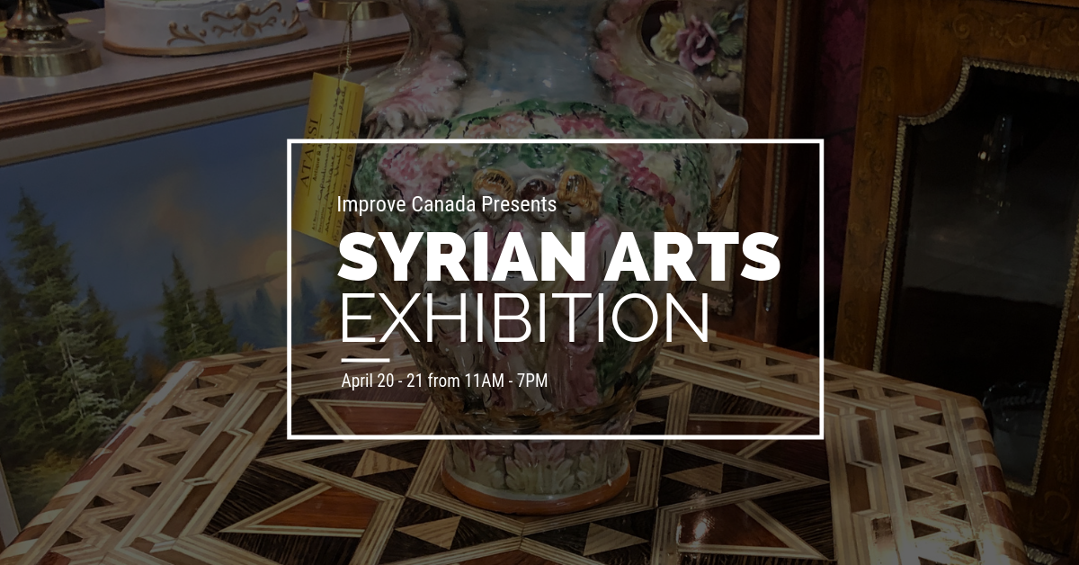 Syrian Arts Exhibition