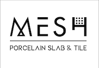 Mesh Porcelain Slab and Tile Logo