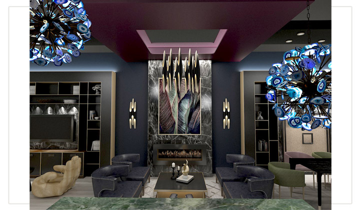 VIP Lounge Design Project, by The House of Interior Design, Vaughan