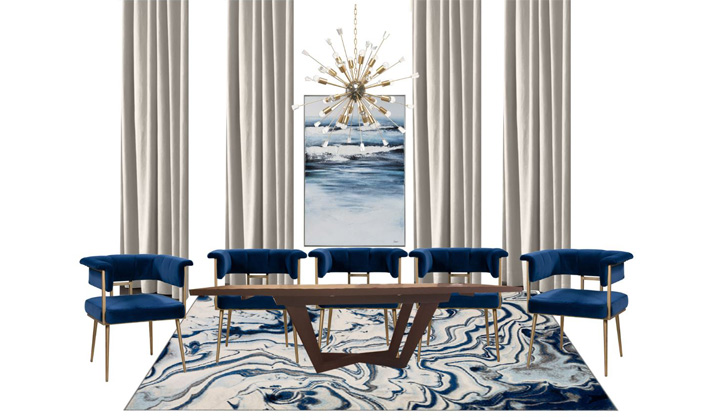 Dining Room Design Concept, by The House of Interior Design, Vaughan