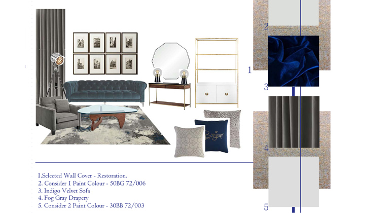 Interior Design Concept, by The House of Interior Design, Vaughan