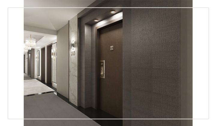 Condo Corridor Design Project, by The House of Interior Design, Vaughan