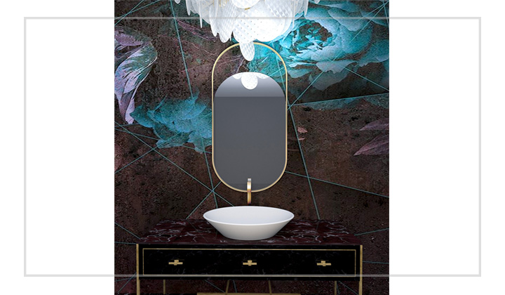 Powder room design project, by The House of Interior Design, Vaughan