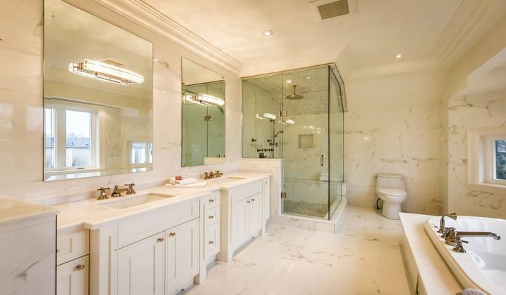 Master Bathroom renovation by Great 6 Contracting