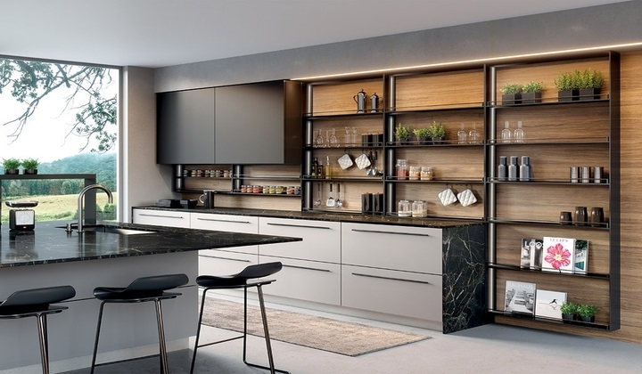 Italian modern kitchen by LUME