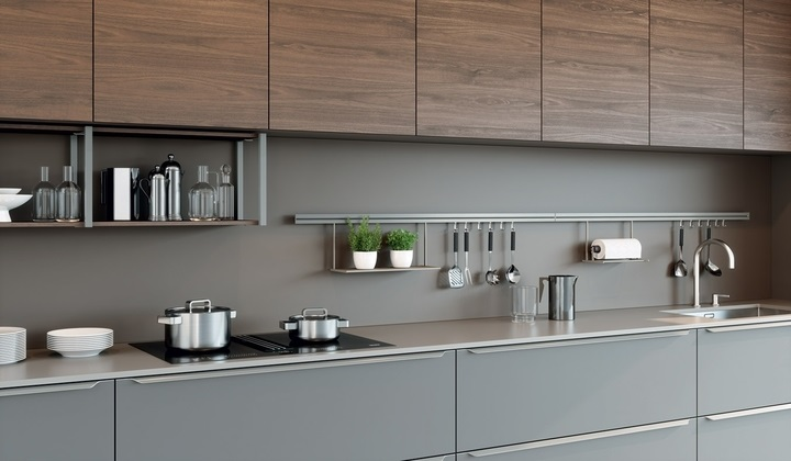 Italina modern kitchen by LUME