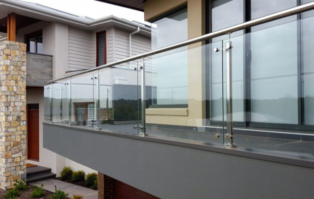 Urban Glass Railings - Stainless Steel Post Railing System