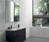 White Quartz Bathroom Walls