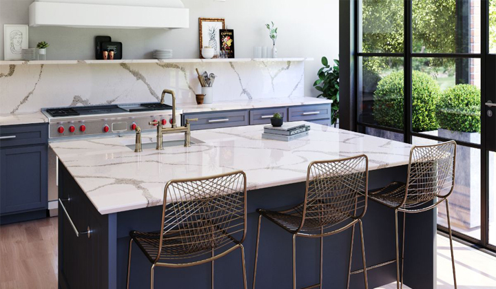 Cambria Queensbury Quartz Countertop, GT Kitchen and Bath, Toronto