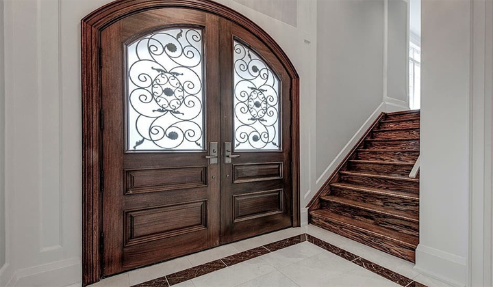 Mahogany Exterior Door by Master Doors, Vaughan