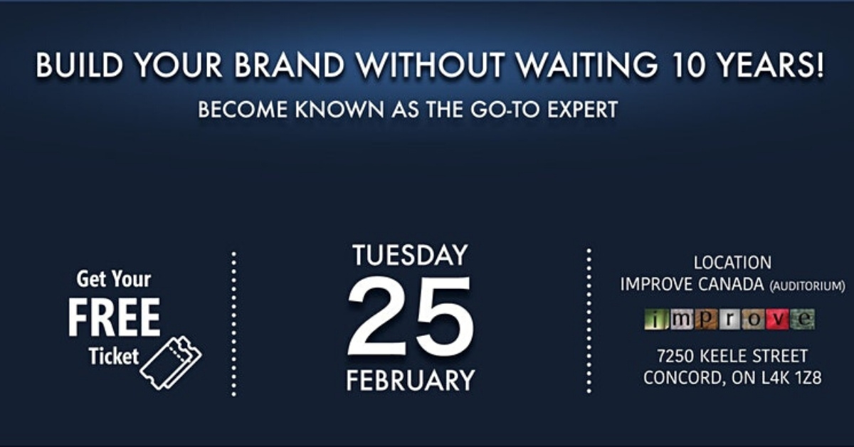 Build Your Brand Without Waiting 10 Years