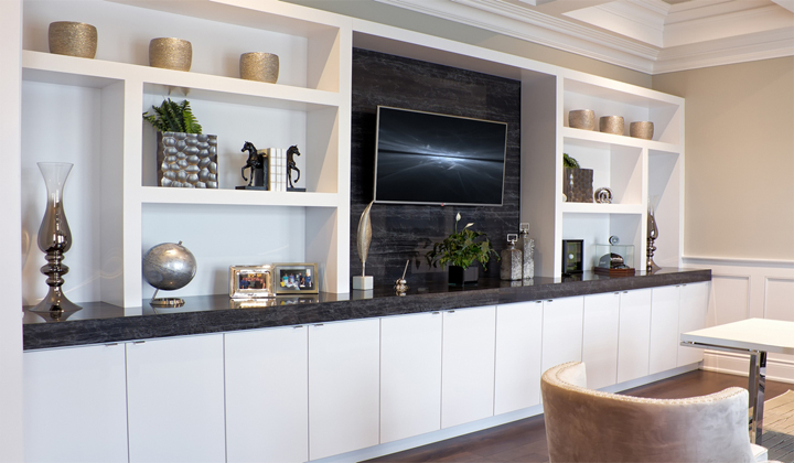 Living Room Wall Unit Countertop by Surfaces For All Purposes, Toronto