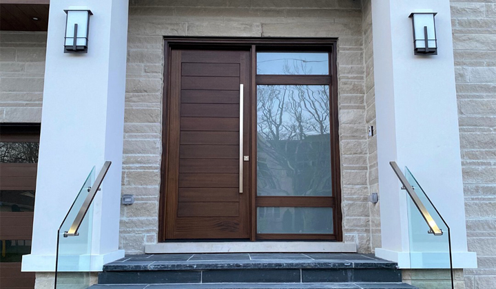 Modern Custom Exterior Door by Master Doors, Vaughan