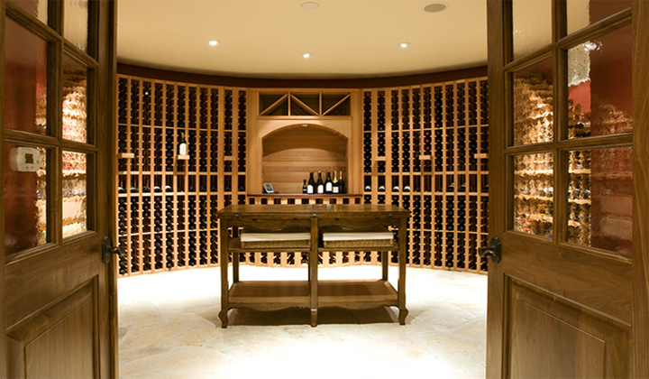Custom Made Wine Cellar Doors by Master Doors, Toronto