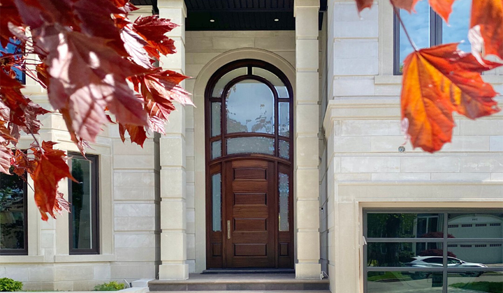 Custom Solid Wood Exterior Door by Master Doors, Toronto