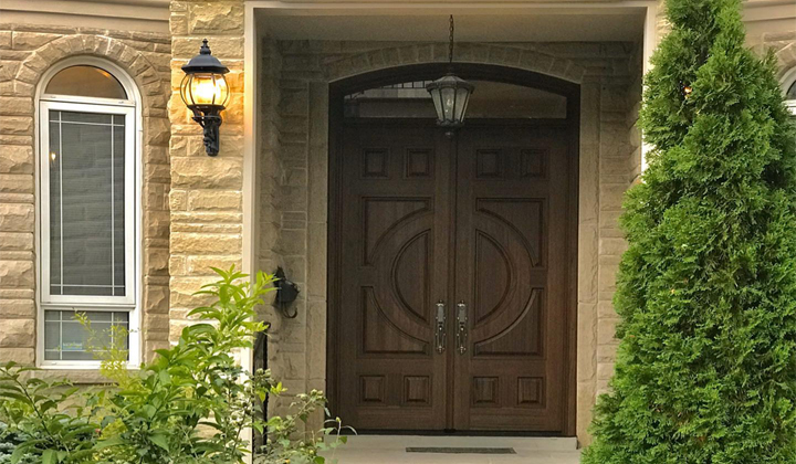 Classic Wood Entry Door by Master Doors, Toronto