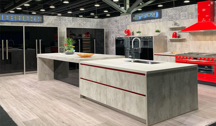 Modern Bauformat Kitchen for IDS Toronto Show