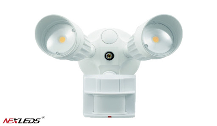 NEXLEDS Sensor Security Light available in ProLite Showroom