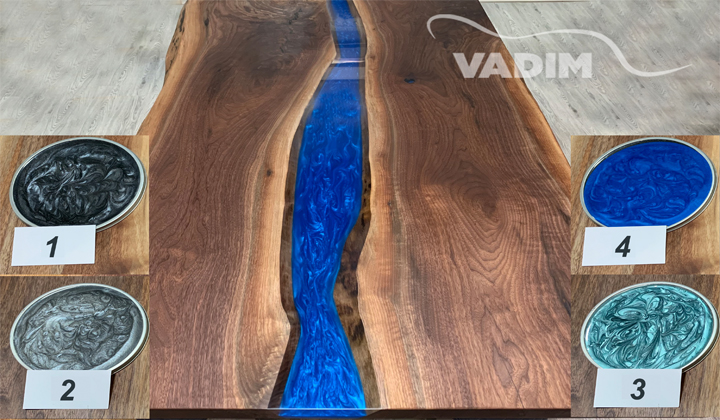 Glass Colour Options for Furniture by Realwood