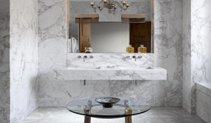 Calacatta Marble by SICIS at Artistic Mosaic Tiles, Vaughan