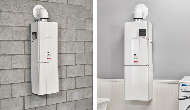 Rinnai offers a variety of tankless water heaters for different-size homes that meet your home's hot water demands.