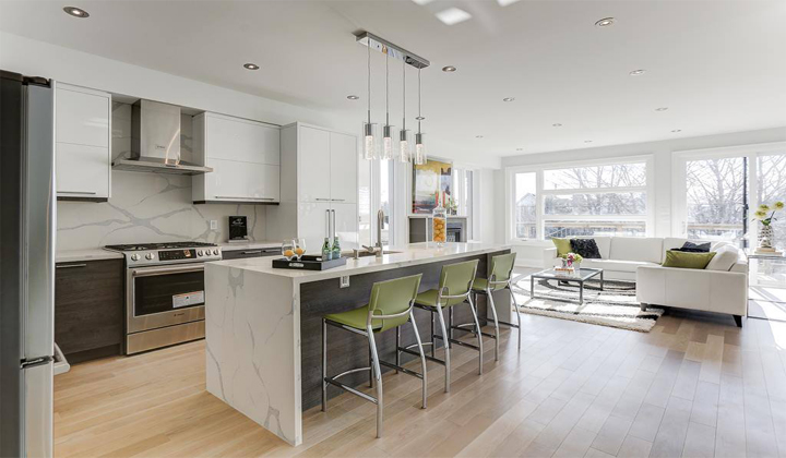 Kitchen Renovation by Reno-Art Contracting, North York