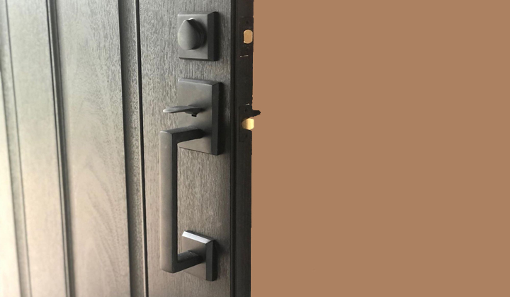 Front Door Hardware available at The Door Boutique & Hardware showroom, Vaughan