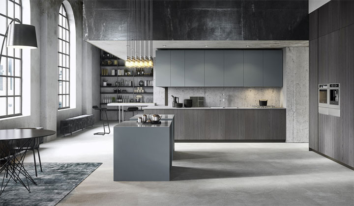 3.1 SYSTEM: EQUIPPED PANELS FOR KITCHENS, CONTAINER ELEMENTS AND WORKTOPS FOR THE COOKING AREA