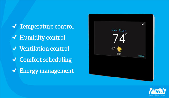 Ion System Control by KeepRite  gives you full command of temperature, humidity, ventilation, comfort scheduling, energy management and more.