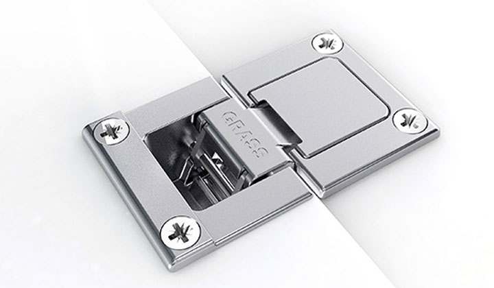 Special Hinges by G Grass at JC Hardware Showroom
