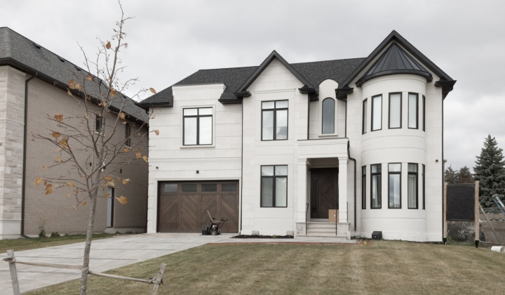 Custom Home by MERSHIRE Building Company, Richmond Hill