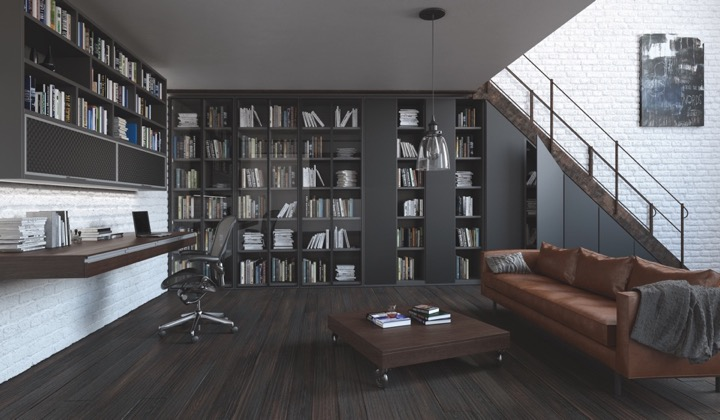 Home Offices by Komandor featuring Opal Doors