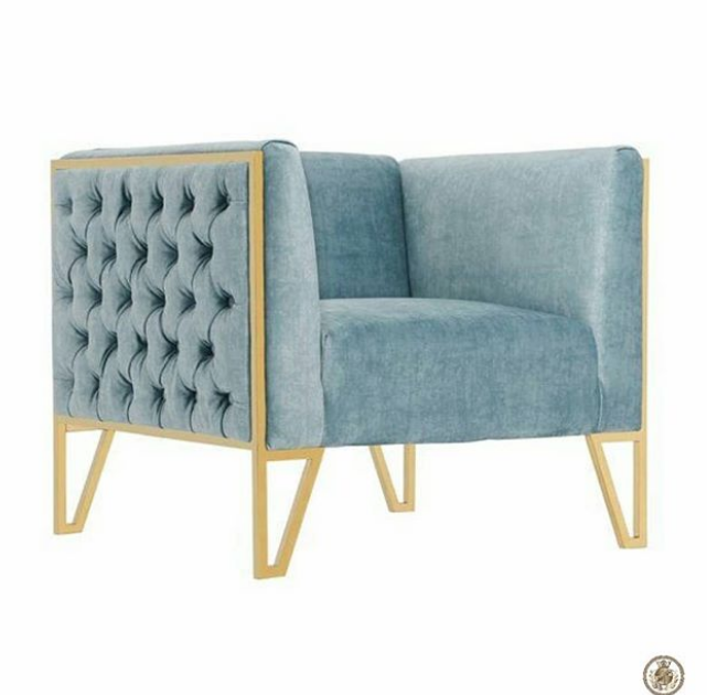 Macintosh HD:Users:amandaheath:Desktop:Images Used for Accent Chair Blog:AEuropean Velvet in Cadet Bluewould be an goregous piece to add to your living room_ArtBoulle.png